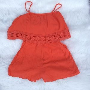 Romper As U Wish Junior Small Coral